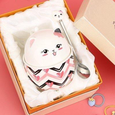 Cute Cat Ceramic Cup 350ml