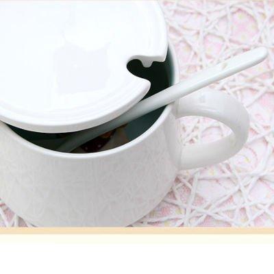 Cute Ceramic Coffee Cup 350ml