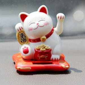 Solar Powered Small Fortune Cat