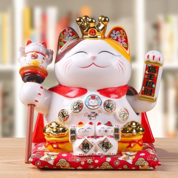 Fortune Cat King Business Booming 26cm