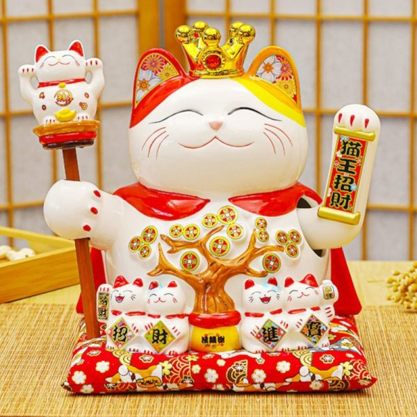 Fortune Cat King Money Tree