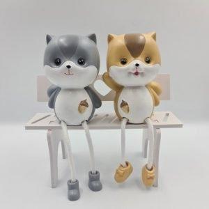 Hanging Leg Figurines Cute Squirrel