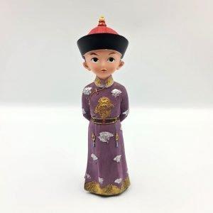 Qing Dynasty Prince Figurine