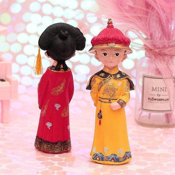 Emperor Queen Figurines Box Set
