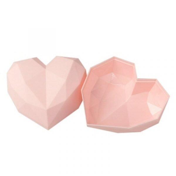 Love Shape Gift Box Pink
