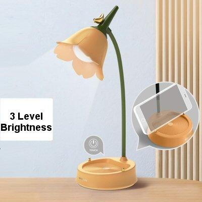 USB Flower Desk Lamp