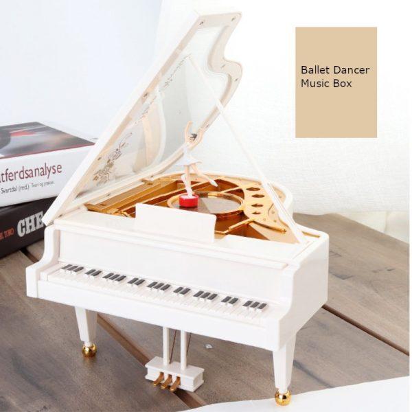 Unforgettable Piano Ballet Girl Music Box