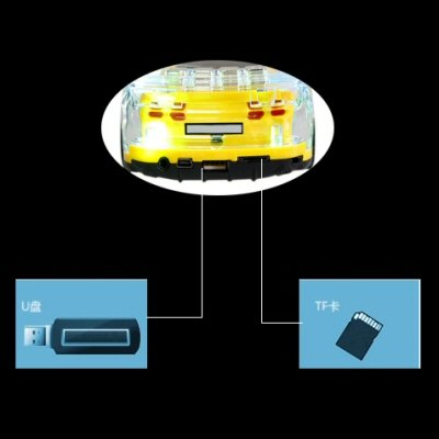 Portable Car Bluetooth Speaker Stereo