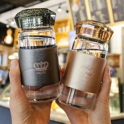 Diamond Glass Water Tumbler 320ml