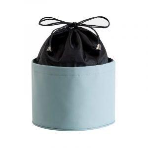 Round Shape Portable Makeup Bag