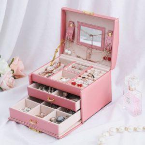Double-layer Makeup Storage Box