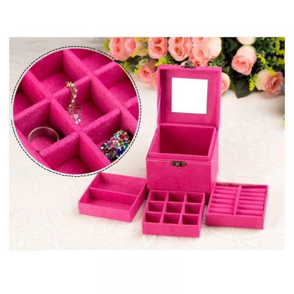 Classic Retro Jewelry Box
