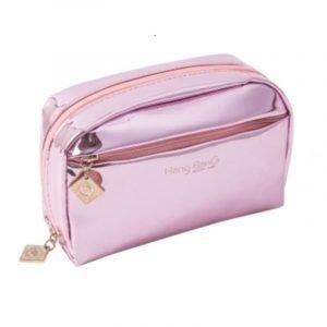 Portable Waterproof Shiny Makeup Bag