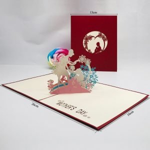 Mother's Day 3D Greeting Card