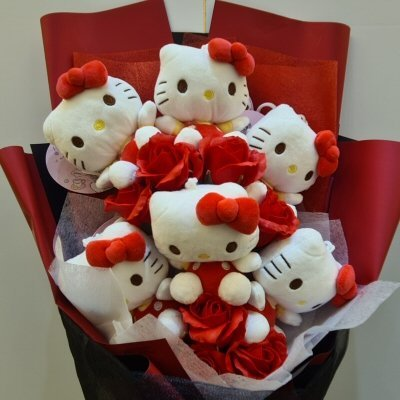 Hello Kitty Soft Toy Flowers Bouquet