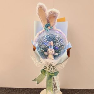 Stella Lou Doll Dried Flowers Bouquet
