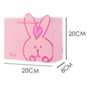 Pink Bunny Gift Bag