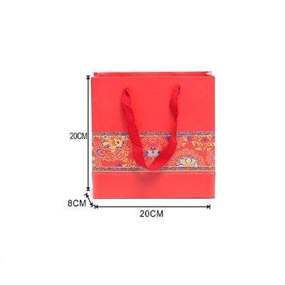 Red Festive Gift Bag Medium