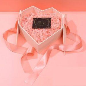 Love Shape Pink Gift Box