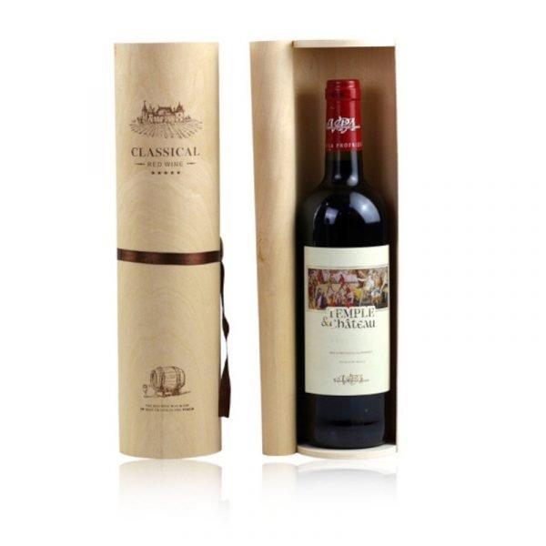 Wine Set Wooden Gift Box