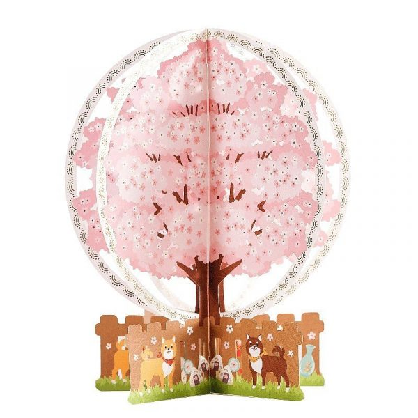 Cherry Blossom 3D Greeting Card