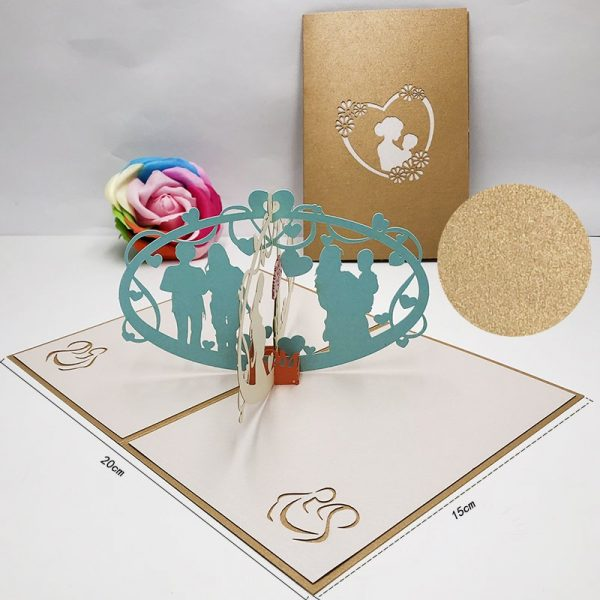 3D Mother's Day Greeting Card
