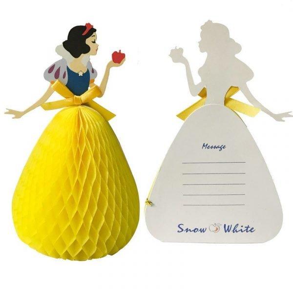 Snow White 3D Greeting Card