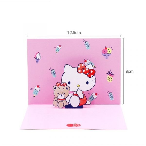 Hello Kitty 3D Greeting Card