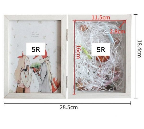 Double-sided Picture Frame Folding 5R