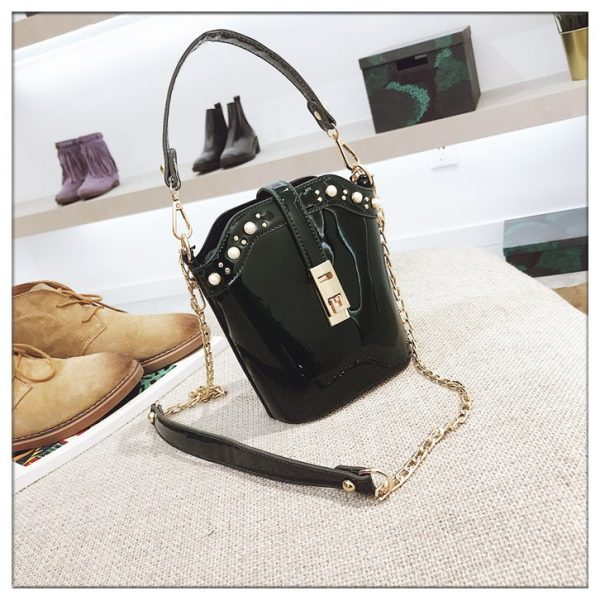 Oceanic Bucket PU Leather Bag
