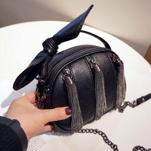 Crossbody Tassel Chain Bag