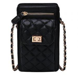Rhombus Chain Mobile Phone Bag