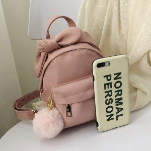 Stylish Nylon Mini Backpack Small