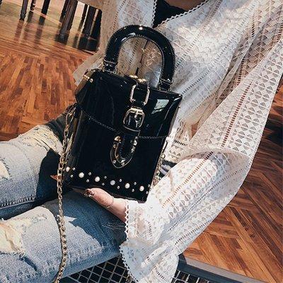 Chain Shoulder Rivet Bag
