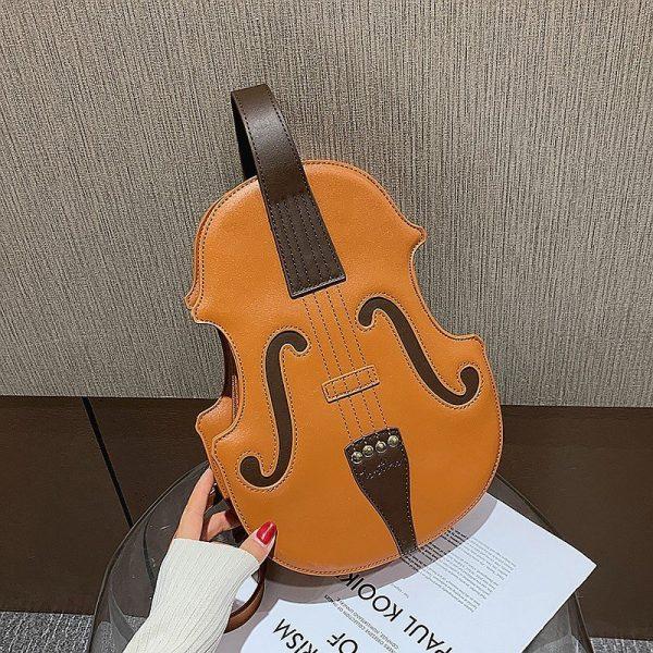 Retro Violin Backpack
