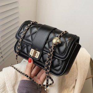 Small Diamond Chain Bag
