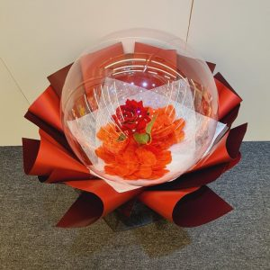 Forever Red Balloon Bouquet