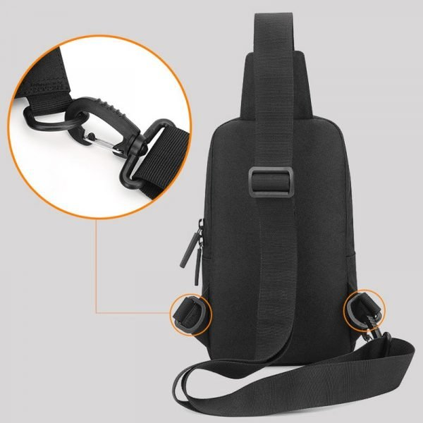 Large Canvas Chest Backpack