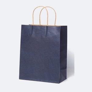 Navy Blue Paper Bag 26 x 12