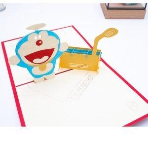 Doraemon 3D Greeting Card