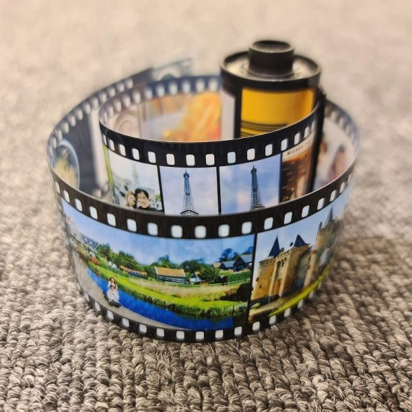 Personalized Vintage Film Roll Photos