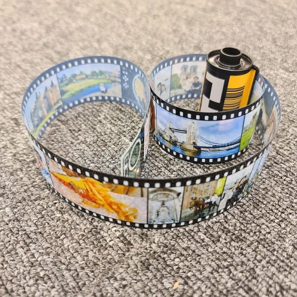 Personalized Vintage Film Roll